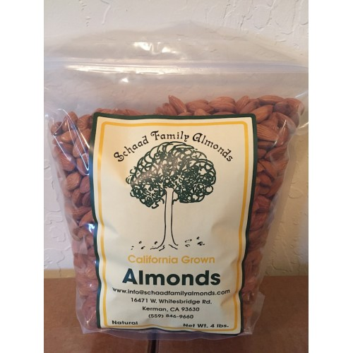 Schaad Family Farms Almonds 4lb Bag